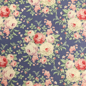 Old Rose Lydia Blue fabric