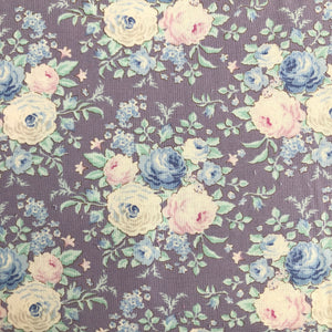 Old Rose Lydia Lavender Fabric