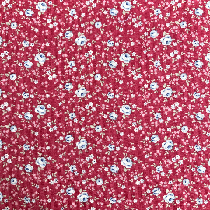 Old Rose Eliza Raspberry Fabric