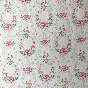 Old Rose Lucy Red Rose Fabric