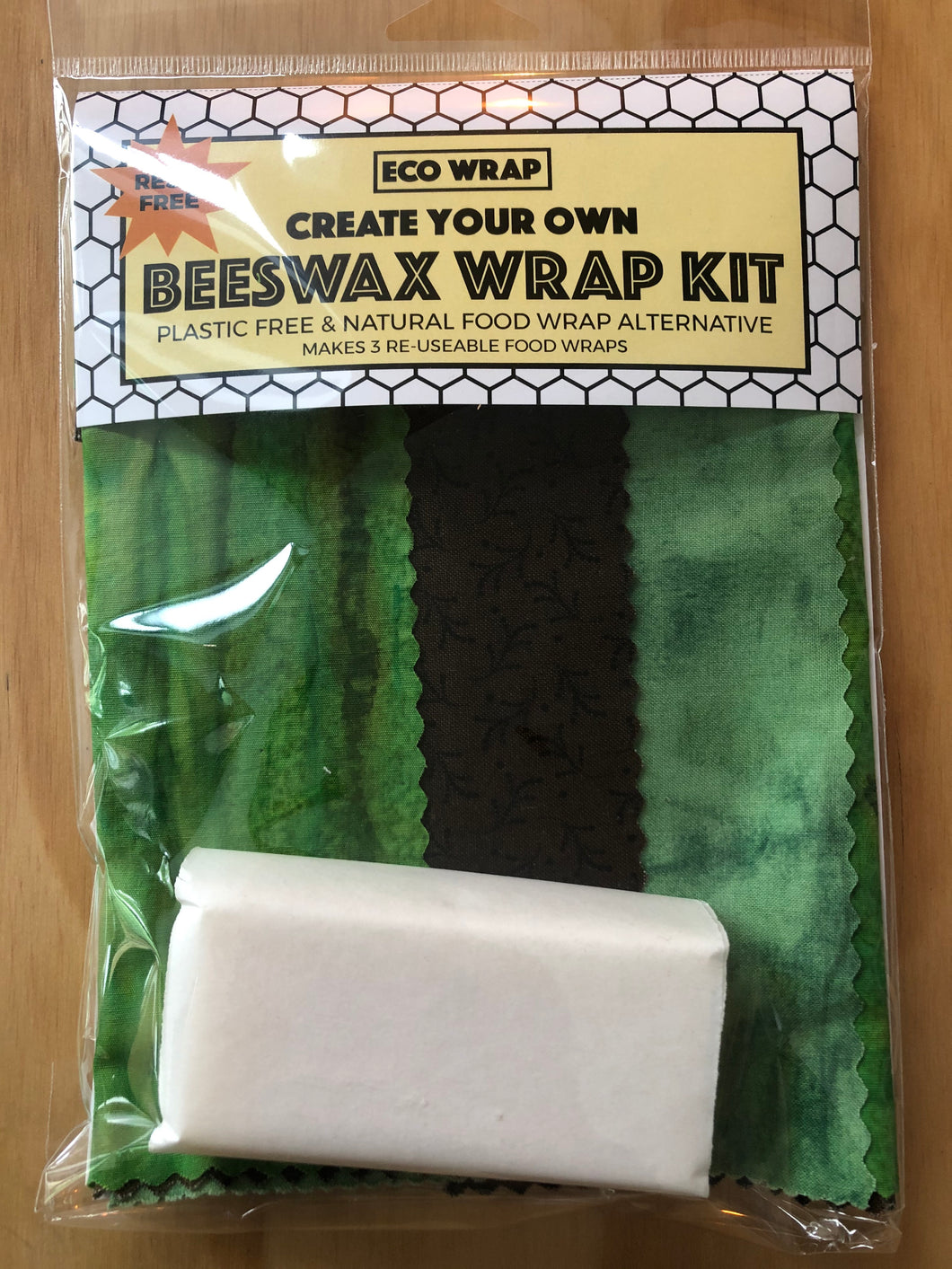 Create Your Own Beeswax Kit - Greens