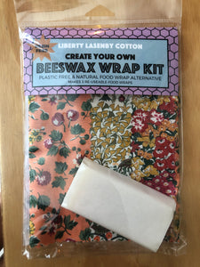 Beeswax Kit - Peach/Red/Mustard Garden