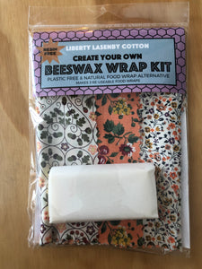 Beeswax Kit - Peach & Cream Garden