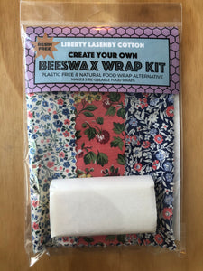 Beeswax Kit - Pink & Deep Blue Garden