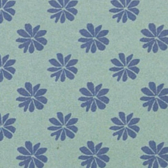 Liberty Blue Floral Dot Fabric - Z
