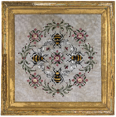 Honeymakers Cross Stitch Pattern