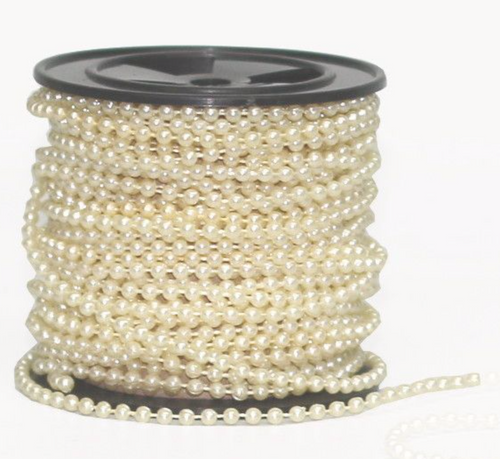 Dainty String Of  Pearls Cream