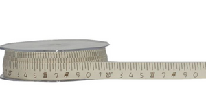 Tape Measure Cotton Ribbon