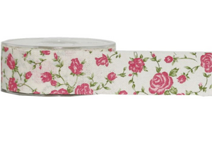 Rosie Cream Ribbon