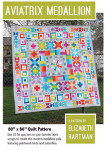 Avaitrix Medallion Quilt Pattern