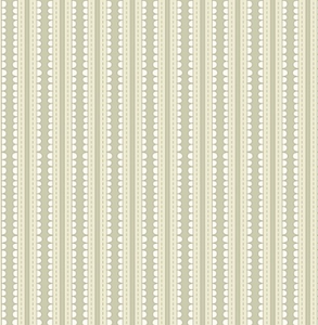 Scallop Stripes In Tan Fabric