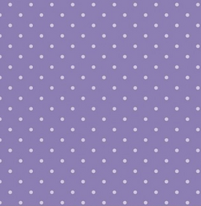 Dots In Purple Fabric