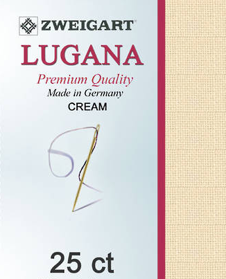 Lugana Cream FAT Q 25ct