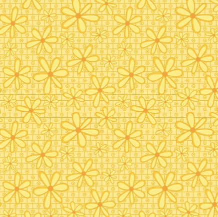 Yellow Daisies Fabric