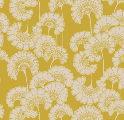 Romantic Rebel Japanese Floral Coutere Fabric
