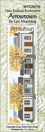 Arrowtown Cross Stitch Bookmark