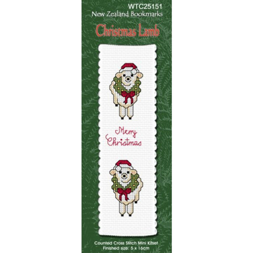 Christmas Lamb Bookmark