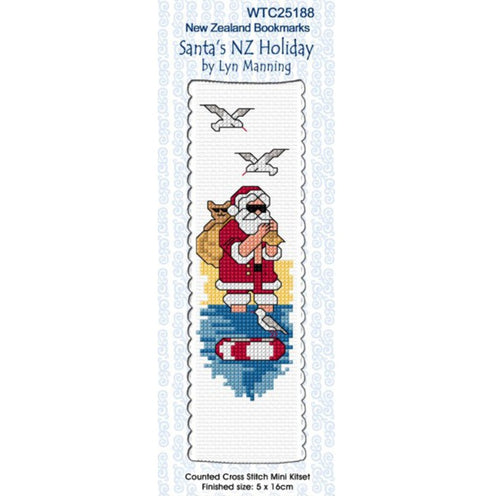 Santas NZ Holiday Bookmark