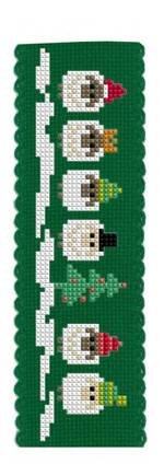 Merry Xmas to Ewes Bookmark