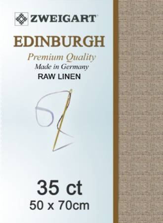 Edinburgh Fat Q Raw Linen