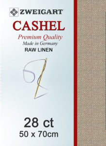 Cashel Fat Q 28ct Raw Linen