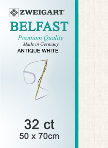 Belfast Fat Q 32ct Antique White