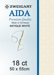 Aida Fat Q 18ct Antique White