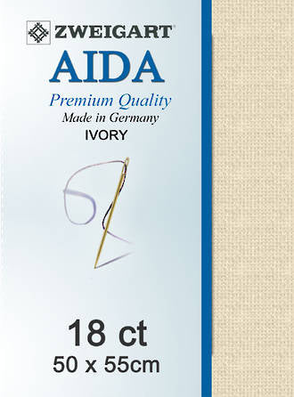 Aida Fat Q 18ct Ivory