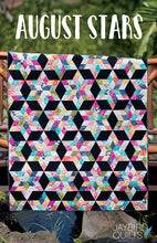Load image into Gallery viewer, August Stars Quilt Pattern