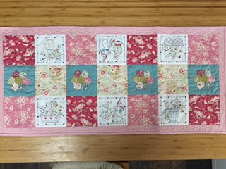 Blossom Bunny Table Runner