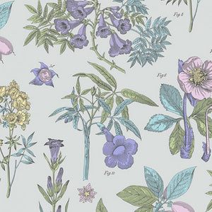 Botanica Fabric - Grey