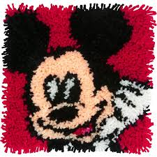Mickey Mouse Latch Hook Kit