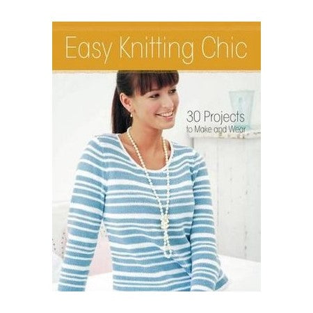 Easy Knitting Chic Book