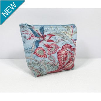 Liberty Blue Cosmetic Bag