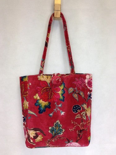 Tote Bag Tree Of Life Red