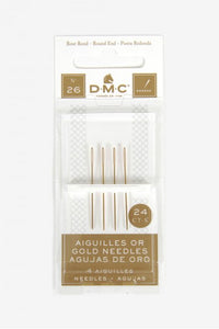 DMC Gold Cross Stitch Needle (26)
