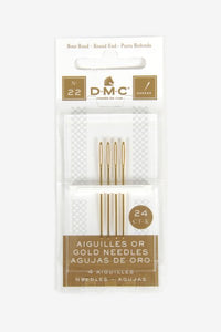 DMC Gold Cross Stitch Needle (22)