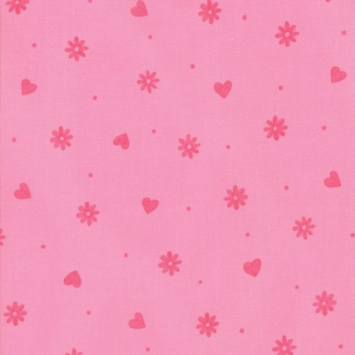 Hearts & Flowers - ROSY PINK