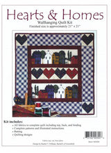 Load image into Gallery viewer, Hearts & Home Wallhanging Quilt kit