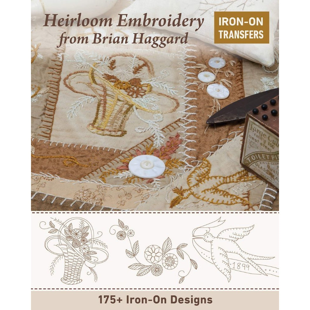 Heirloom Embroidery With Iron On Transfers