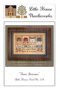 Four Seasons Cross Stitch Pattern