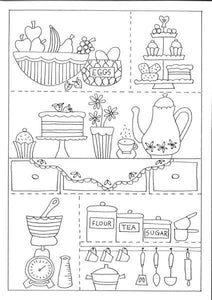 The Kitchen Stitchery Pattern