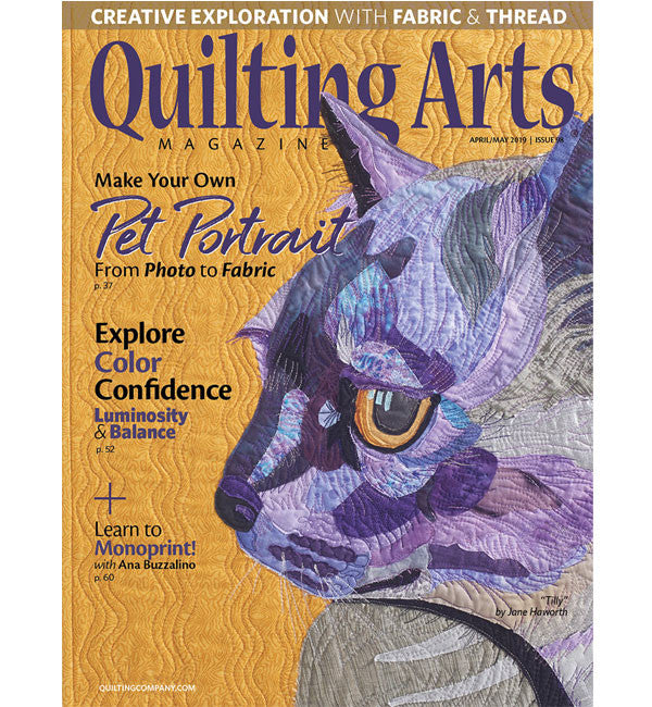 Quilting Arts April/May 2019