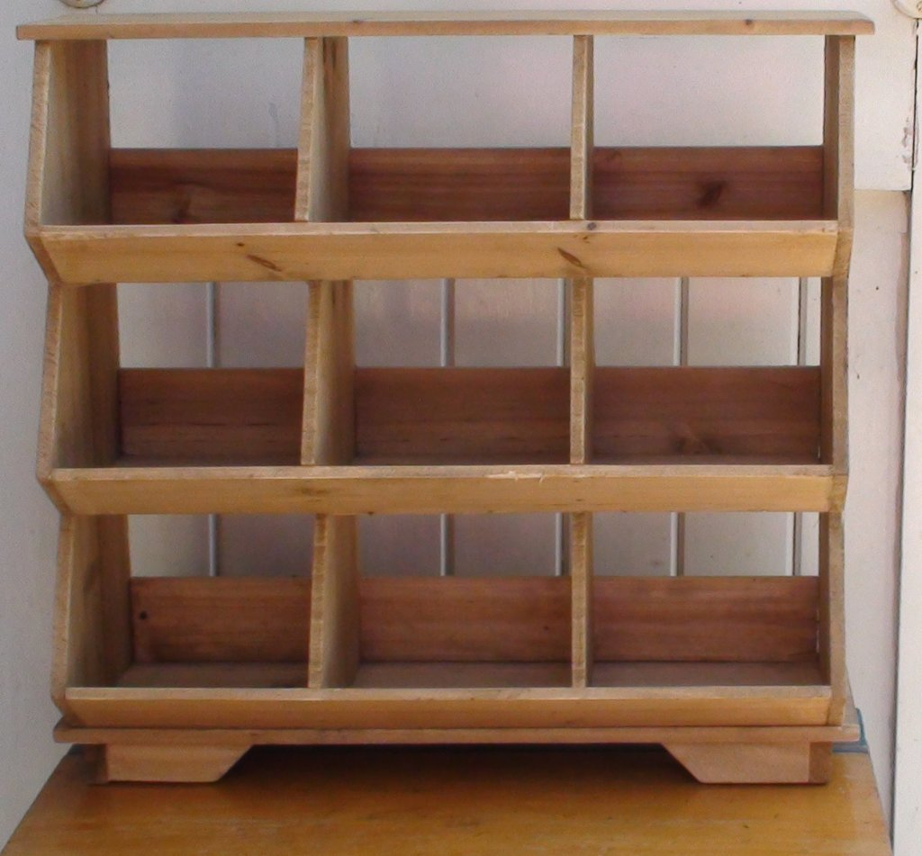 Vintage 9 Grid Shelf