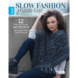 Slow Fashion Made Fast Knitting Book