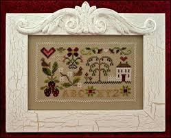 Summer Splendor Cross Stitch Pattern