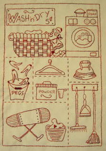 The Laundry Stitchery Pattern