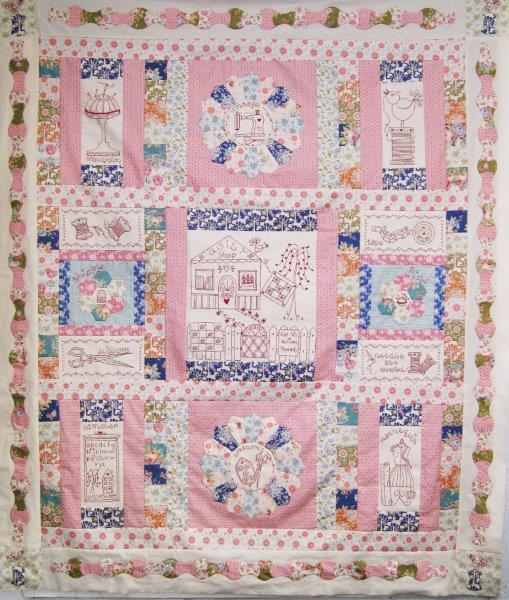 With Needle and Thread Quilt Pattern