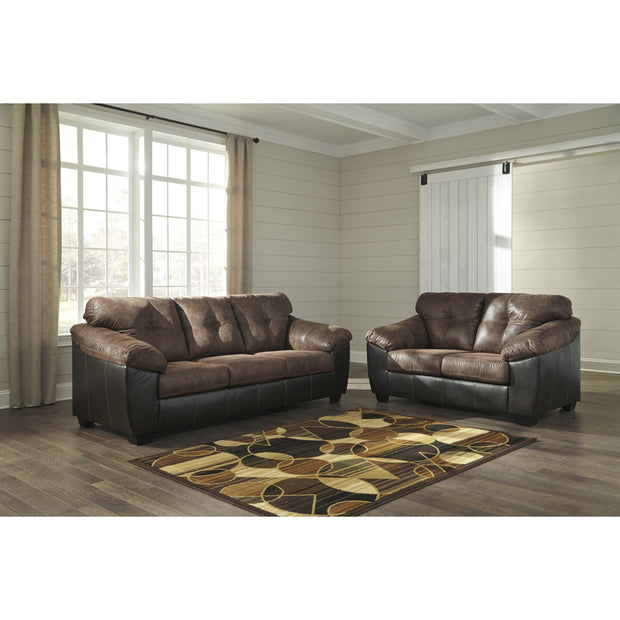 Gregale Coffee Sofa