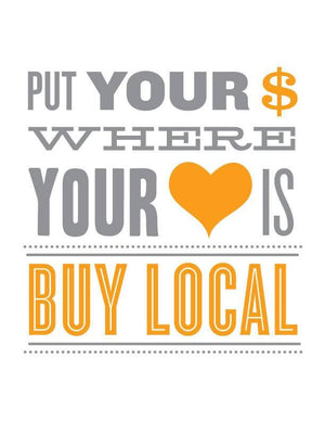 Be Local, Shop Local, Save Local.